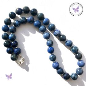 Dumortierite Bead Necklace